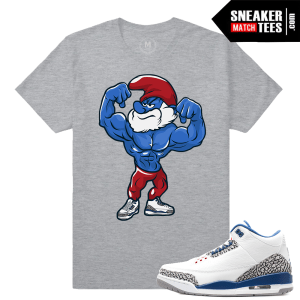 Sneaker tee Match Jordan True Blue 3