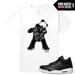 Sneaker tee match Jordan 3 Premium Icon