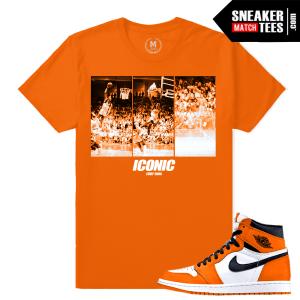 Sneaker Tee Shirt Jordan 1 Shattered Backboard 1s