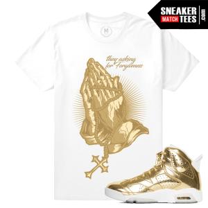 Sneaker Tees Pinnacle Gold 6s