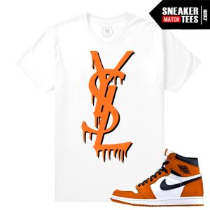 Sneaker shirt Match Shattered Backboard 1s