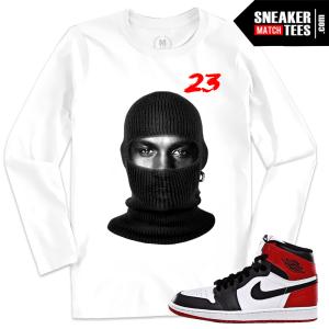 T shirt Black Toe Jordan 1