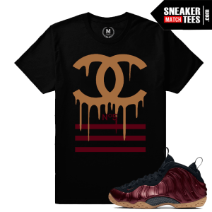 T shirt Maroon Foams Nike