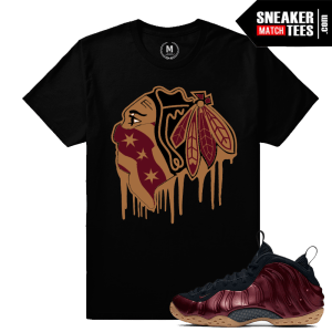 T shirt Maroon Foams