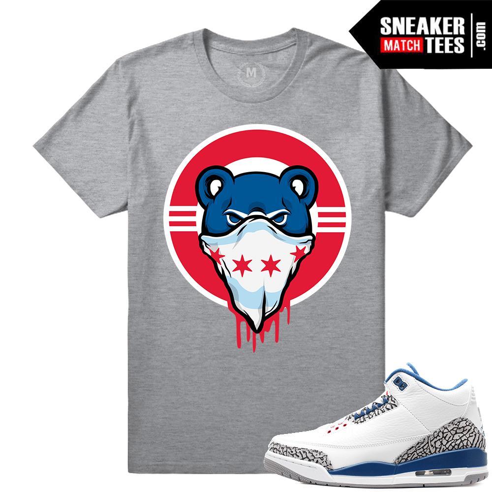 a2af9a559e90b2 Jordan 3 True Blue OG Match Sneaker Tee Shirts