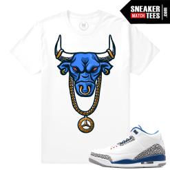 True Blue 3 Jordan Retro T shirt Match