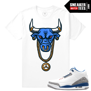True Blue 3 Jordan Retro T shirt Match