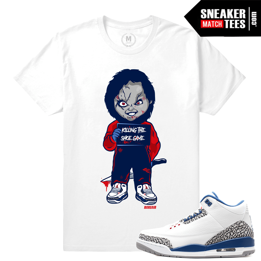 factory price 1c626 7851b true blue 3s t shirt Match