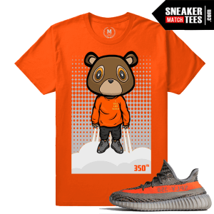 Yeezy Bear shirt Match Yeezy Boost 350 Beluga