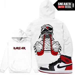 Jordan 1 Black Toe Match Hoodie Sweatshirt
