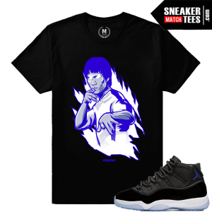 Jordan 11 Space Jam Sneaker Match Shirt