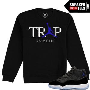 Jordan 11 Space Jam Crewneck Sweatshirt