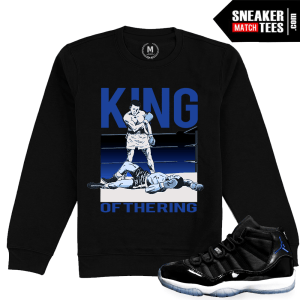 Jordan 11 Space Jam Matching Sweatshirt Crewneck