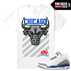 Jordan 3 Retro True Blue Sneaker Tees