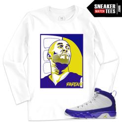 Jordan 9 Kobe Matching Long Sleeve T shirt