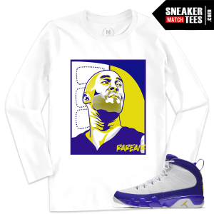 Jordan 9 Kobe Matching Long Sleeve T shirt