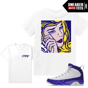 Jordan 9 Kobe Matching T shirt