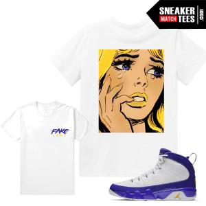 Jordan 9 Kobe T shirt Match