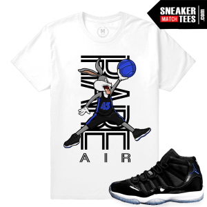 Match Space Jam 11 T shirts