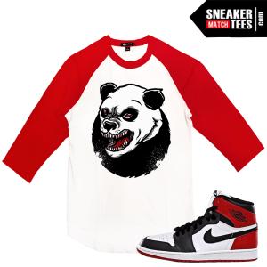 Raglan Shirt Jordan 1 Black Toe