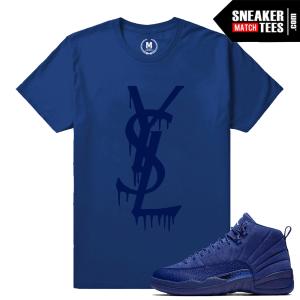 Shirt Match Blue Suede 12 Jordan