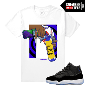 Shirts Match Space Jam 11s Sneakers