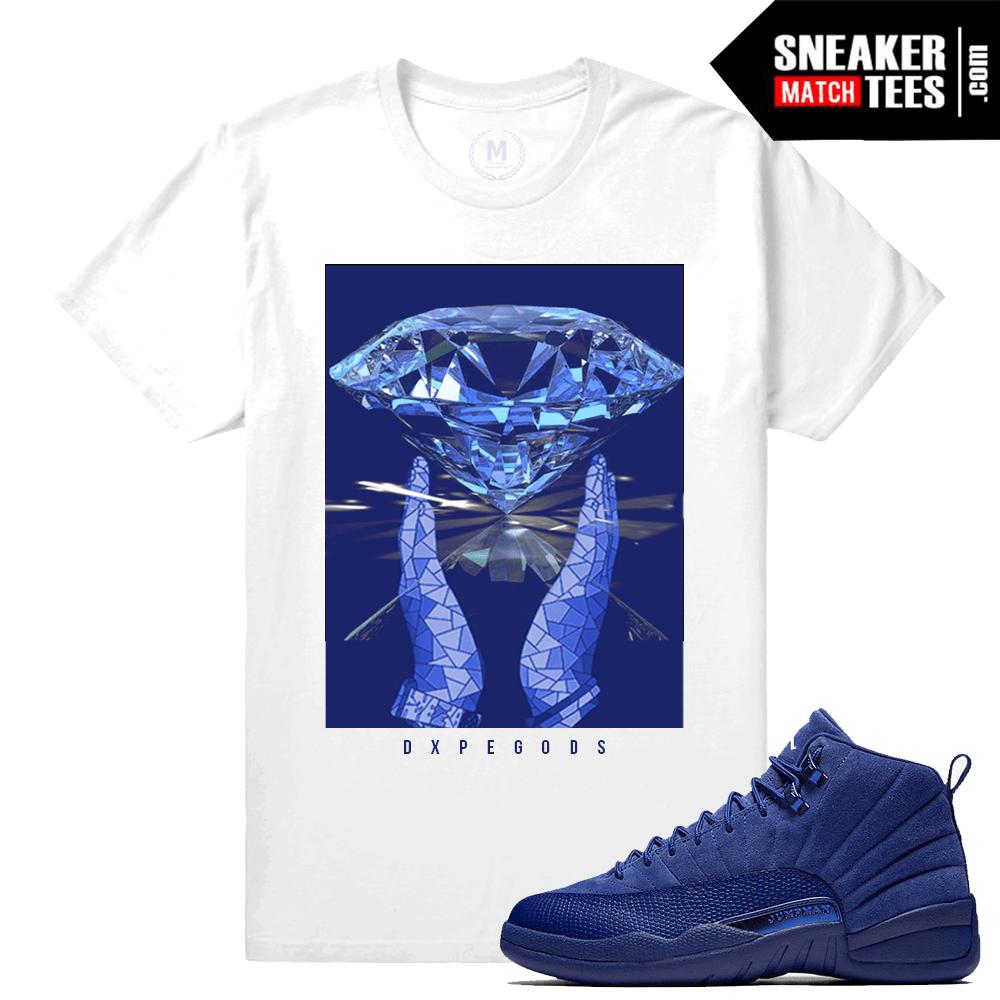 bca843d36e40aa Sneaker tees Blue Suede 12 Retro Jordans