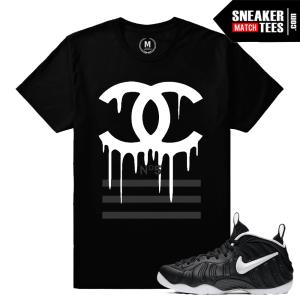 Sneaker Tees Match Doom Foamposite Nike