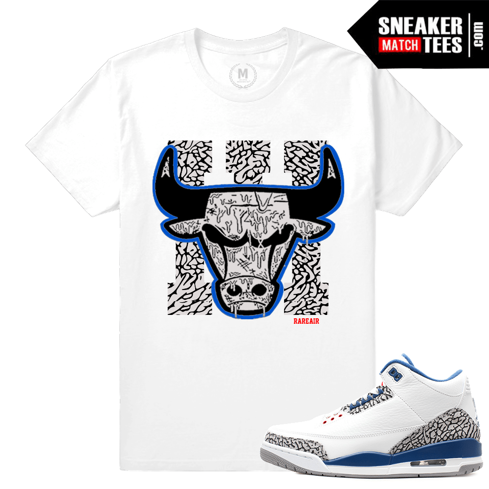 brand new dcd39 715d5 Sneaker Tees True Blue 3 Jordan