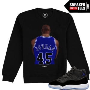 Space Jam 11 Jordan Crewneck Sweatshirt Match