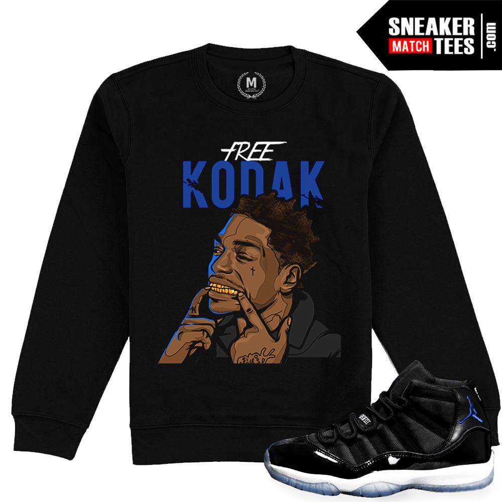 25f56918f437 Space Jam 11 Jordan Retro Crewneck Match