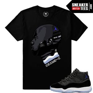 Sneaker Tees Matching Space Jam 11s