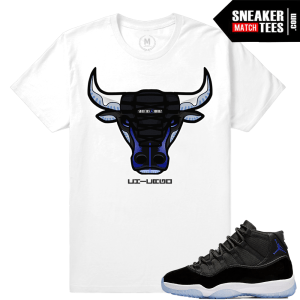 Jordan 11 Space Jams Match Shirt