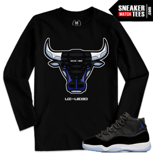Jordan 11 Space Jams Shirts