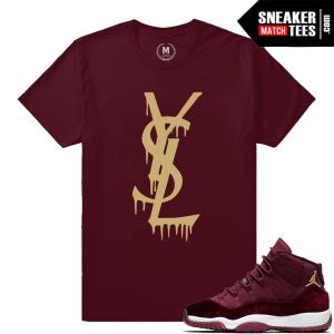 Jordan 11 Velvet GS Matching T shirt