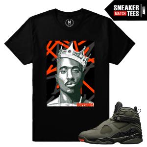 Jordan 8 Take Flight Matching Sneaker Shirts