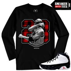 Jordan 9 OG Matching Long Sleeve T shirt