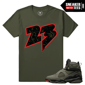 Match Jordan 8 Retro Take Flight Sneaker tees