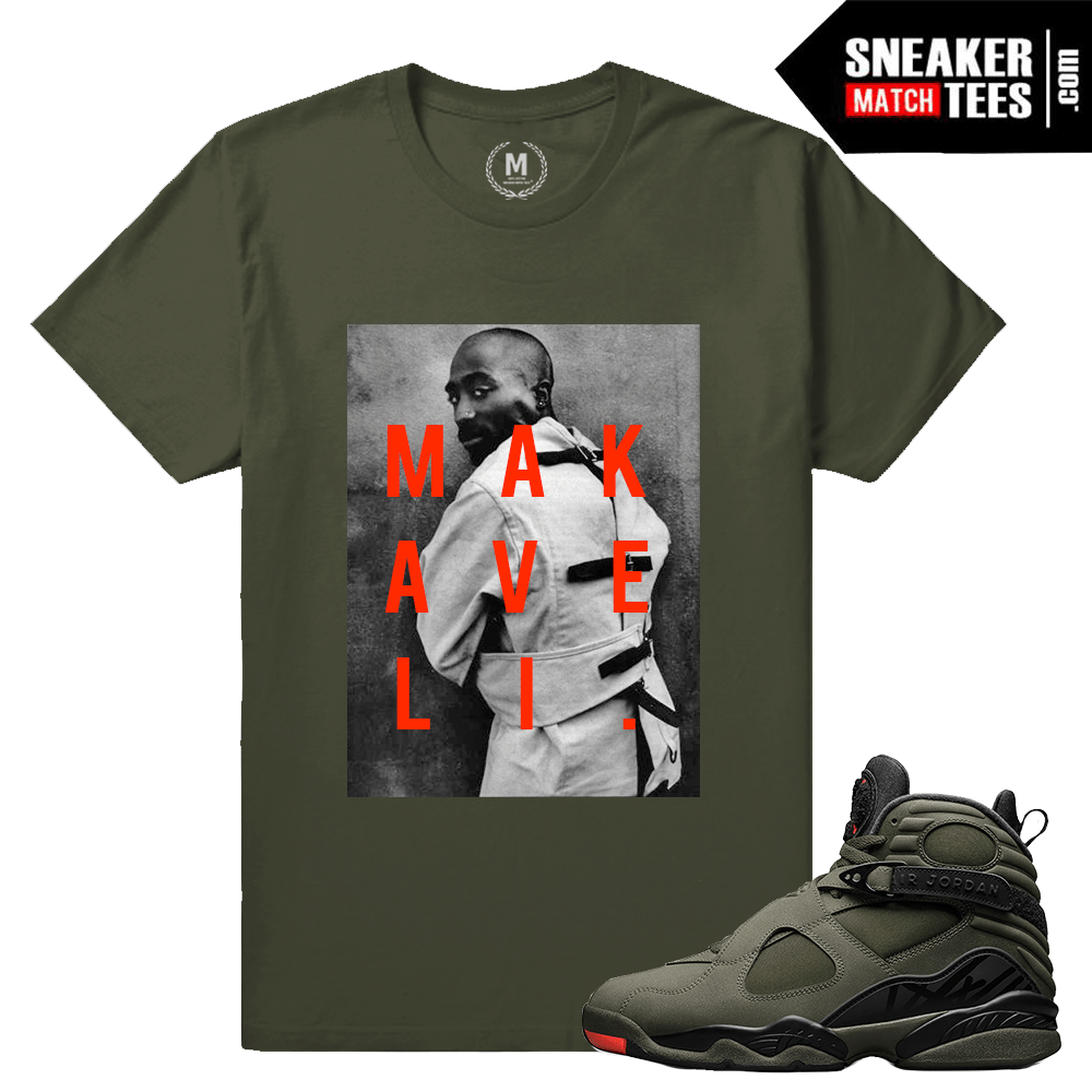 69329f3c11d2d4 Sneaker Tee Shirts Matching Jordan 8 Take Flight