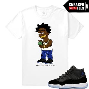 Space Jam 11 Matching T shirt Jordan Retros