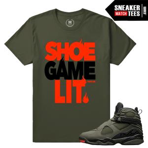 Take Flight 8 Jordan T shirt Match