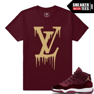 Velvet 11 Jordan Retro Match T shirt