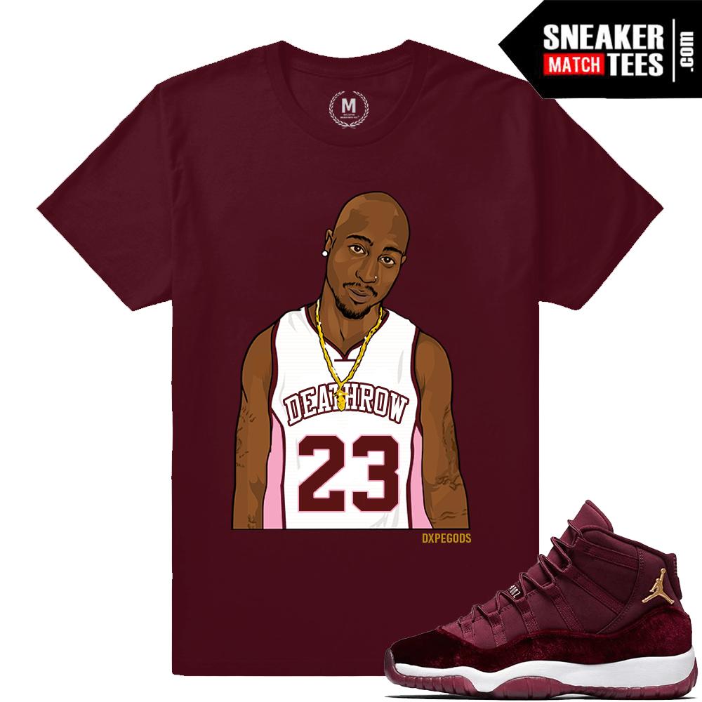 f72c78c58d94 Velvet 11 Sneaker Match Shirts Jordan Retros