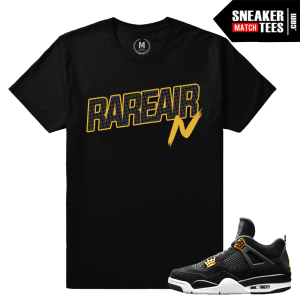 Air Jordan 4 Royalty Match Tee shirt