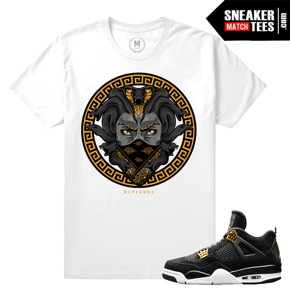 74fc5c0cee3d Jordan 4 Royalty Retro T shirt Match