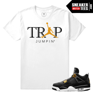 Jordan 4 Royalty matching tee shirt