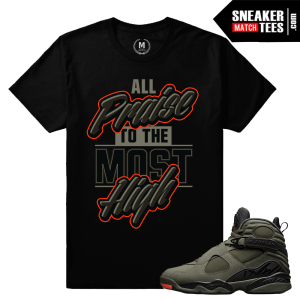 Match Jordan 8 Take Flight Tee Shirts