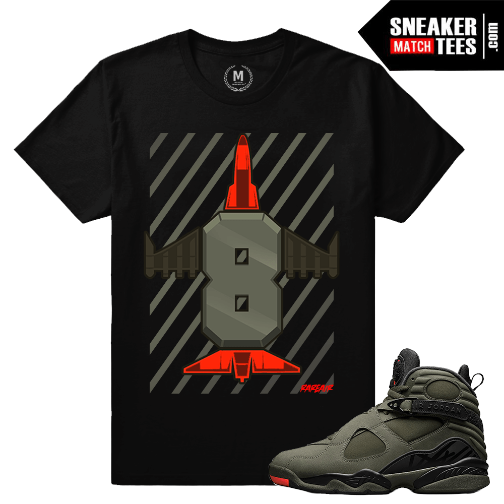 Shirts Air Jordan 8 Take Flight