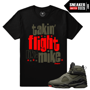 Sneaker Match Jordan 8 Take Flight