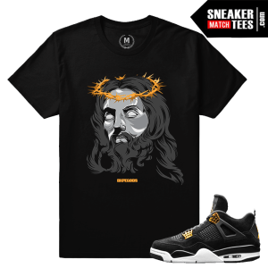 Sneaker Shirt Matching Royalty 4s